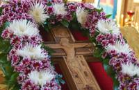 Воздвиження Хреста архієрейським чином у Свято-Іллінському храмі Дубно