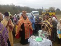 Молитва на місці сплюндрованої обителі: Хрестовоздвиженський монастир Дубно